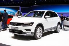 Volkswagen Tiguan in Geneva Stock Photography