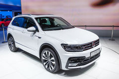 Volkswagen Tiguan at the IAA 2015 Stock Image
