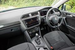 Volkswagen Tiguan 2018 intérieur photo libre de droits