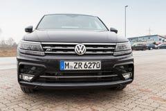 Volkswagen Tiguan, 4x4 linea r 2017 Immagine Stock