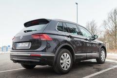 Volkswagen Tiguan, linea r dell'europeo 4x4 Fotografia Stock Libera da Diritti