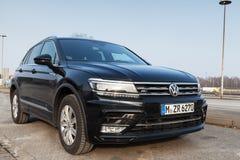 2017 Volkswagen Tiguan, linea r 4x4 Fotografia Stock Libera da Diritti