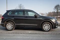 Volkswagen Tiguan, linea r 4x4 Fotografia Stock Libera da Diritti