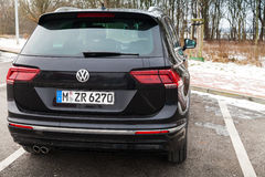 Volkswagen Tiguan, nowy 2017 Obrazy Royalty Free