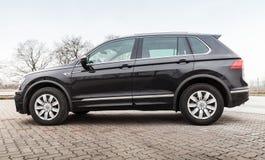 Volkswagen Tiguan, 4x4 r-Lijn 2017 Stock Fotografie