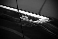 Volkswagen Tiguan, r-Lijn etiket Royalty-vrije Stock Afbeelding