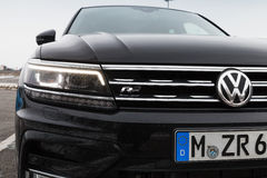 Volkswagen Tiguan, 4x4 R-Line, Nahaufnahme Lizenzfreie Stockbilder