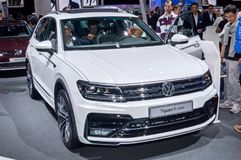 Volkswagen Tiguan R-linje Arkivbilder