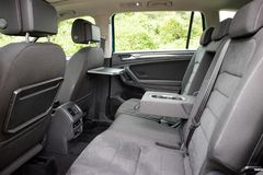 Volkswagen Tiguan 2018 Seat arrière photographie stock