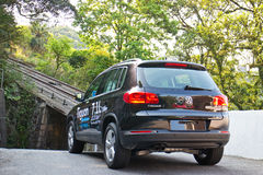 Volkswagen Tiguan 2.0 TSI Royalty Free Stock Photo