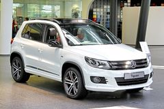 Volkswagen Tiguan Stock Photo