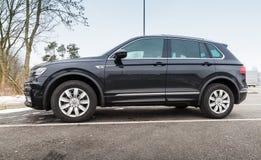 Volkswagen Tiguan, 4x4, 2017 Photo stock