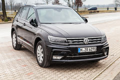 Volkswagen Tiguan, 4x4 2017 linia Obraz Stock