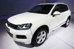 Volkswagen Touareg royalty free stock photography