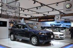 Volkswagen Touareg Fotografia de Stock Royalty Free