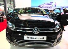 Volkswagen touareg Mischling lizenzfreies stockfoto
