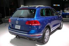A Volkswagen Touareg at the 2016 NYIAS Royalty Free Stock Photos