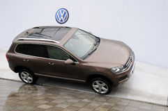 Volkswagen Touareg SUV Stock Photography