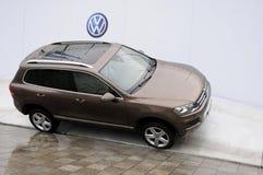 Volkswagen Touareg SUV Photographie stock