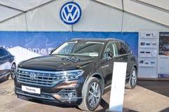 Volkswagen Touareg royalty free stock photography