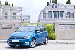 Volkswagen Touran 2016 Royalty Free Stock Image