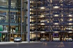 Volkswagen Transparent Factory Stock Images