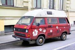 Volkswagen-Transporter stockfoto