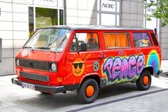 Volkswagen Transporter Royalty Free Stock Photo