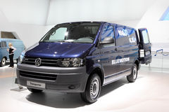 Volkswagen Transporter Van Stock Photos