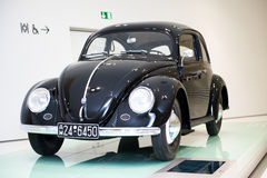 Volkswagen Typ 60 Kafer. At Porsche Museum, Stuttgart, Germany Royalty Free Stock Images