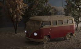 Volkswagen Van foto de stock