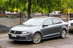Volkswagen Vento Royalty Free Stock Photos