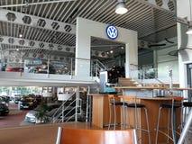 Volkswagen-Verkaufsstelle Stockfoto