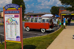 Volkswagen Window Van Stock Images