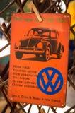 Volkswagen wist altijd het hoe te om Verkoop te bevorderen Royalty-vrije Stock Foto
