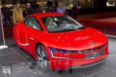 Volkswagen XL1 fotografia stock libera da diritti