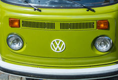 Volkswagon kombiskåpbil Royaltyfri Bild
