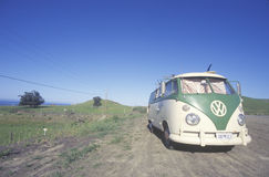 A Volkswagon van parked Royalty Free Stock Photography