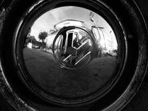Volkswaken轮胎  免版税图库摄影