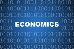 Volkswirtschaft-abstrakter Hintergrund Lizenzfreies Stockfoto