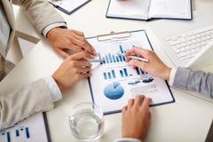 Volkswirtschaftstudie Lizenzfreie Stockfotos
