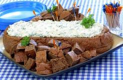 Voll - Ansicht des Bades im Brot-Laib Lizenzfreies Stockfoto