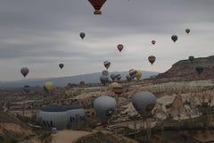 Voll vom Ballon Stockfotografie