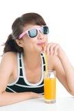 Voll von den Vitaminen Lizenzfreies Stockfoto