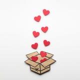 Voll von der Liebe Stockbilder