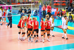 Vollayball Royaltyfria Bilder