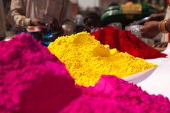 Volle Farben der Farbe von holi Lizenzfreies Stockbild