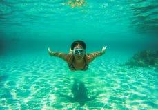 Volle Immersion Lizenzfreie Stockfotos