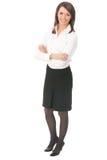 Volle Karosseriengeschäftsfrau Lizenzfreies Stockfoto