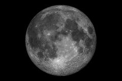 Volle maan vector illustratie